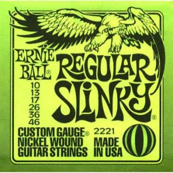 EBGS EB Ernie Ball Electric Guitar Strings