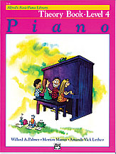 Alfred Basic Piano Theory Level 4 2124