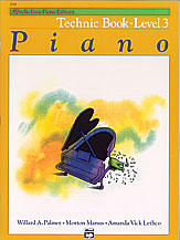 Alfred Basic Piano Technic Level 3 2518
