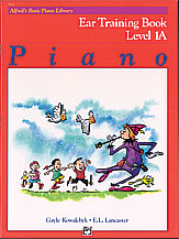 Alfred Basic Piano Ear Training Level 1A 3112