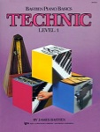 Bastien Piano Basics Technic Level 1 WP216