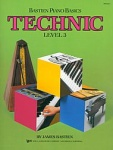 Bastien Piano Basics Technic Level 3 WP218