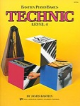 Bastien Piano Basics Technic Level 4 WP219