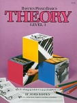 Bastien Piano Basics Theory Level 1 WP206