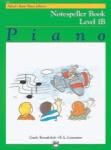 Alfred Basic Piano Notespeller Level 1B 6187