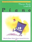 Alfred Basic Piano Theory Level 1B 2121