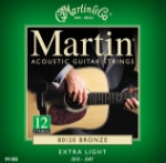 MA180  Martin Acoustic Guitar Strings 12 String -- Extra Light