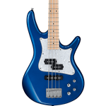 "SRMD200SBM  Ibanez SR Mezzo 4str Electric Bass - 32"" medium Scale - Sapphire Blue Metallic"