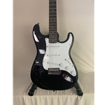 SQSTRAT-BK  Fender Squier Strat Electric Guitar - Black