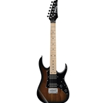 GRGM21MWNS  Ibanez Mikro Electric Guitar-Walnut Sunburst