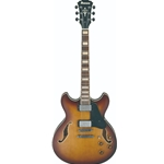 ASV73VLL  Ibanez Semi-Hollowbody Guitar - Violin Sunburst Low Gloss