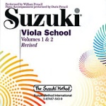 0543  Suzuki Viola School CD Vol 1 & 2