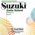 0943  Suzuki Cello School CD Vol 6