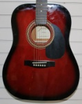 JG-610-R  Johnson Acoustic Guitar - Red