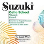 0942  Suzuki Cello School CD Vol 5