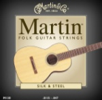 MA130  Martin Folk Guitar Strings -- Silk & Steel