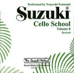 0945  Suzuki Cello School CD Vol 8