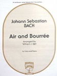 Air and Bourree Tuba And Piano W1647