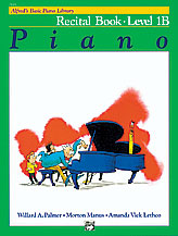 Alfred Basic Piano Recital Level 1B 2113
