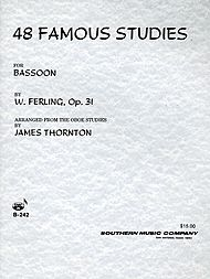 48 Famous Studies for Bassoon B-242